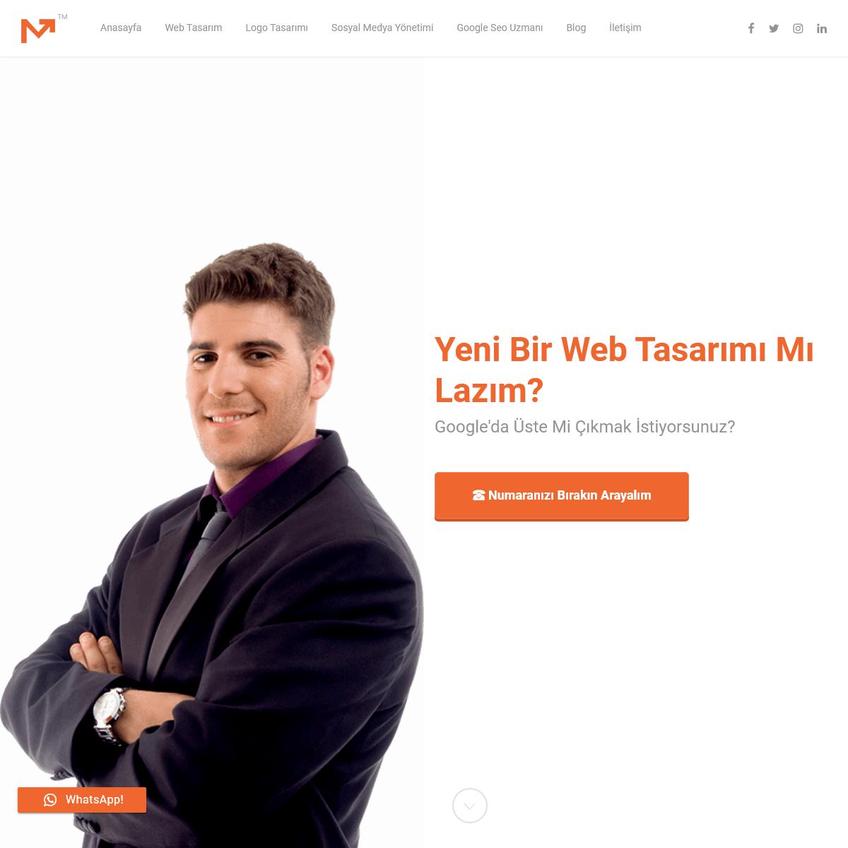 Web Tasarım, Web Tasarım Ajansı, Seo, Sosyal Medya Yönetimi Hizmeti