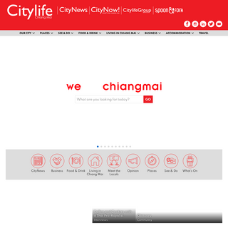 Chiang Mai information, stories & pictures - Citylife - We are Chiang Mai