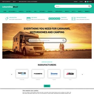Caravan Accessories Shop - Leisureshopdirect