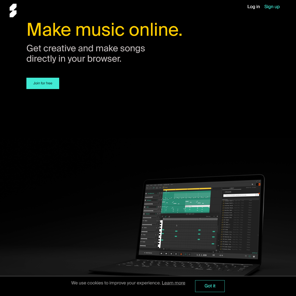 Soundation — Make music online