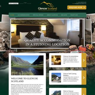 Home - Glencoe ScotlandGlencoe Scotland - The Clachaig Guide to Scotland`s Most Famous glen