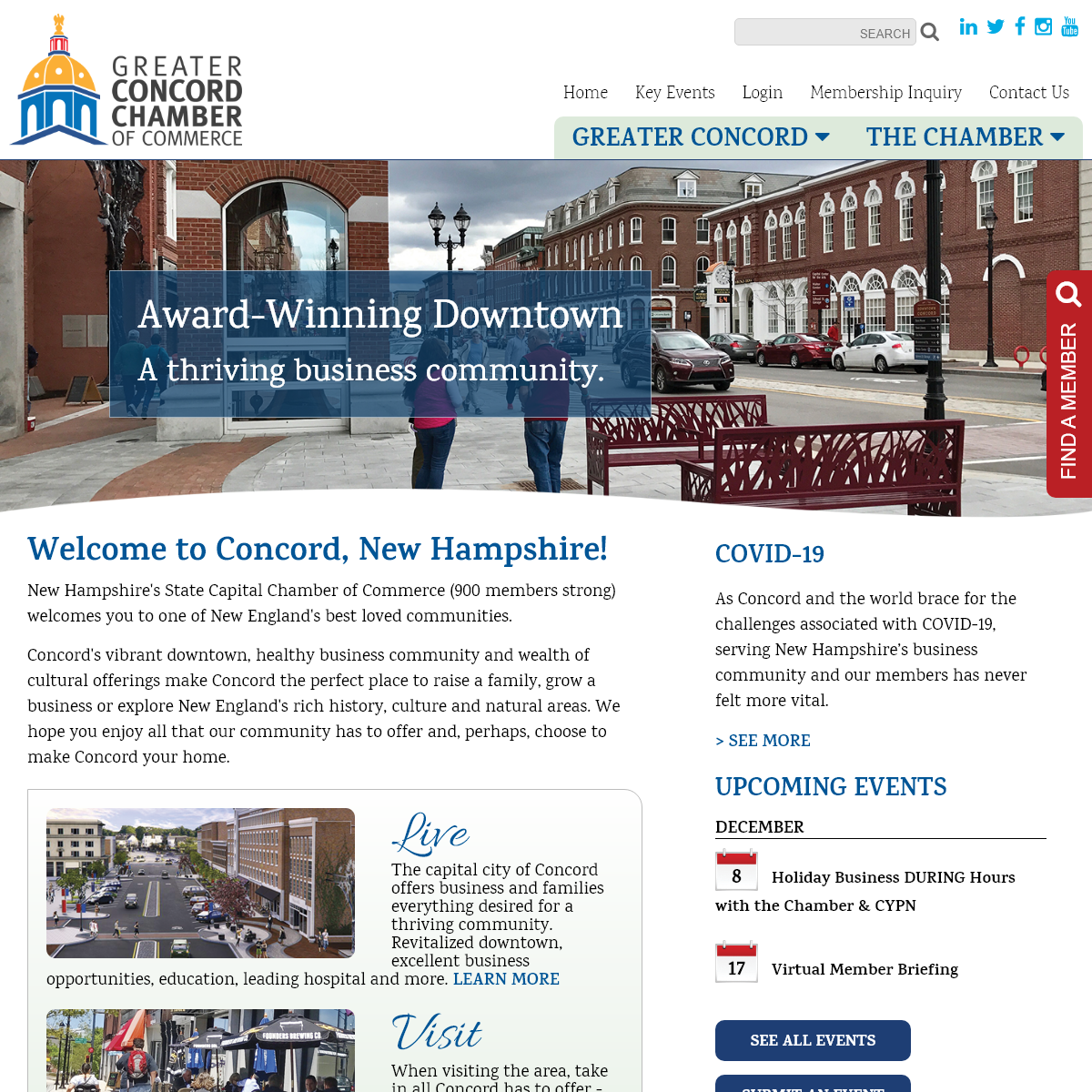 Greater Concord Chamber of Commerce - Home