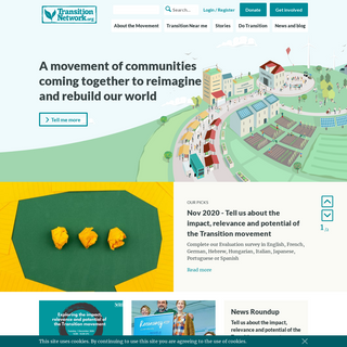 Transition Network - Transition Towns - The Circular Economy