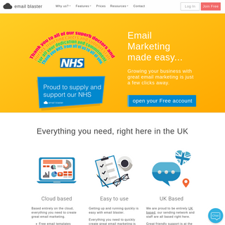 UK Email Marketing Software - Email Blaster
