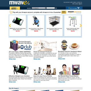Mwave.com - Buy Computer Parts, Hardware, Software, Electronics, Karaoke Home Entertainment, Cell Phones, Netbooks, Notebooks, i