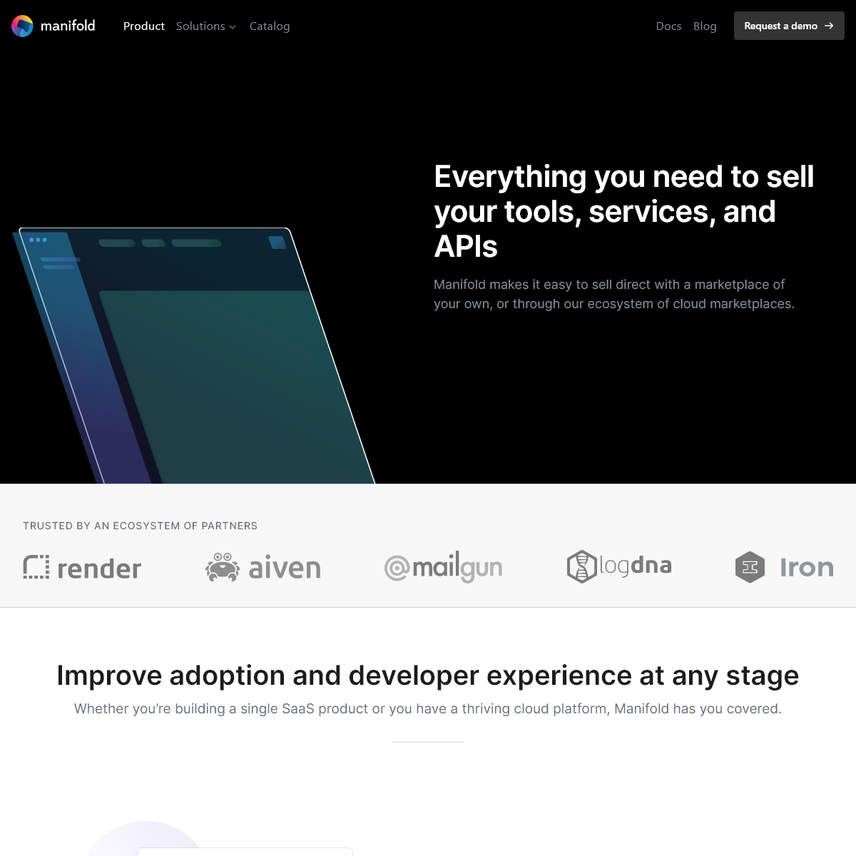 Manifold - Marketplace-as-a-Service for API-first products
