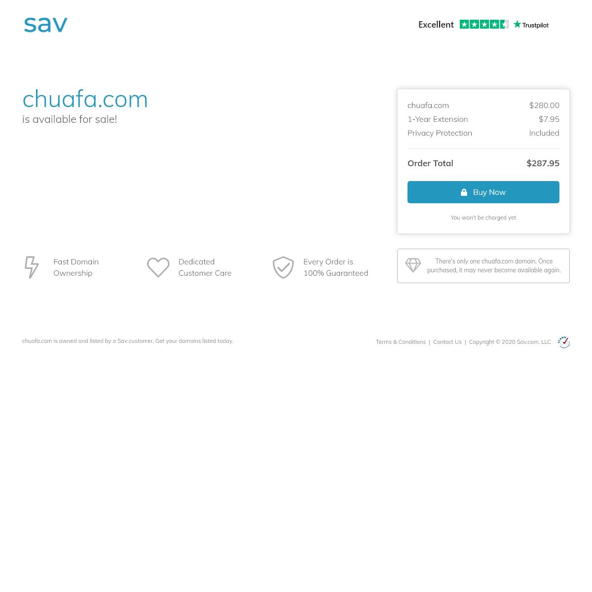 chuafa.com Is for Sale