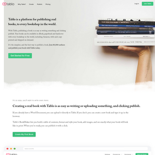 Tablo - The Best Way to Publish a Book