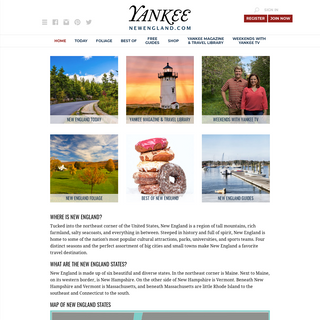 New England Travel, Food, Living - New England Today