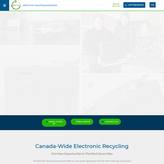 Canada Wide Electronic Recycling - Electronic Recycling Association