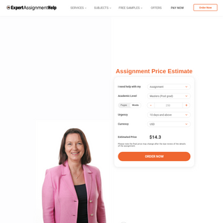 Online Assignment Help For Uni Students - Starting $18 -Page