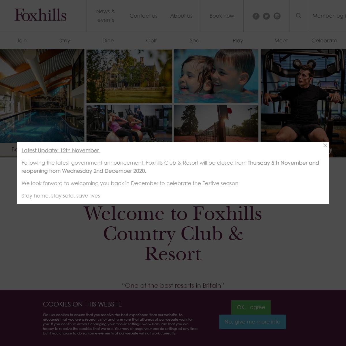 Foxhills Country Club & Resort - Award-winning Surrey Spa & Golf
