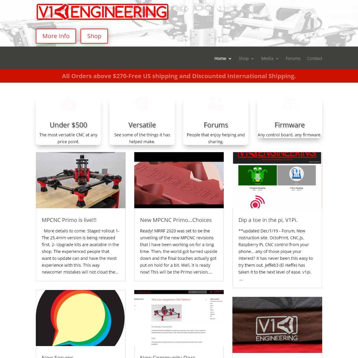 V1 Engineering Inc - DIY Micro Manufacturing Machines and Supplies.