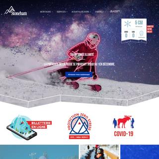 Ski et Snowboard à Stoneham - Stoneham