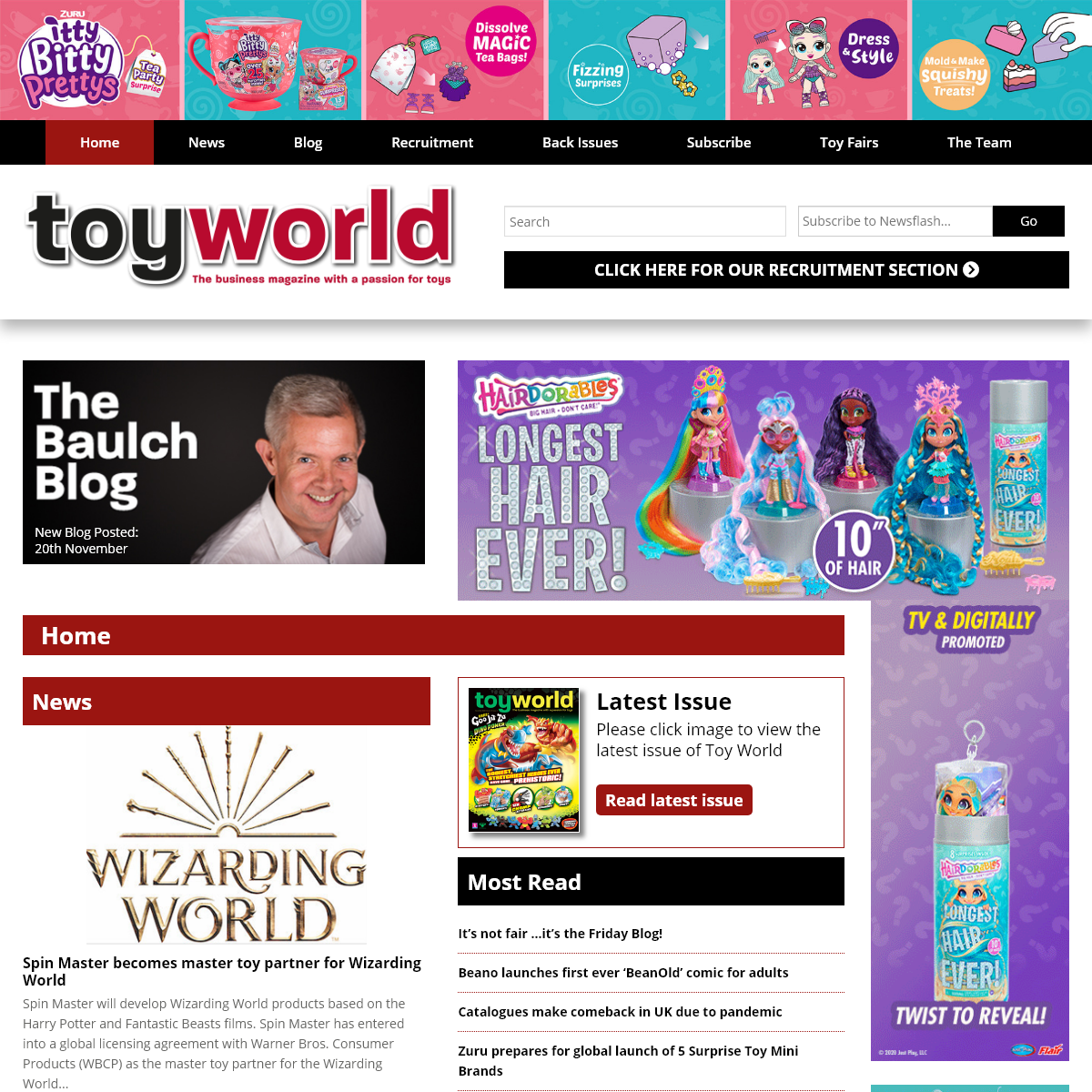 Toy World Magazine - The business magazine with a passion for toysToy World Magazine - The business magazine with a passion for