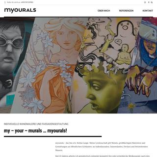 Myourals - Fassaden, Wandgestaltung - myourals.com (Wandmalerei Projekt)