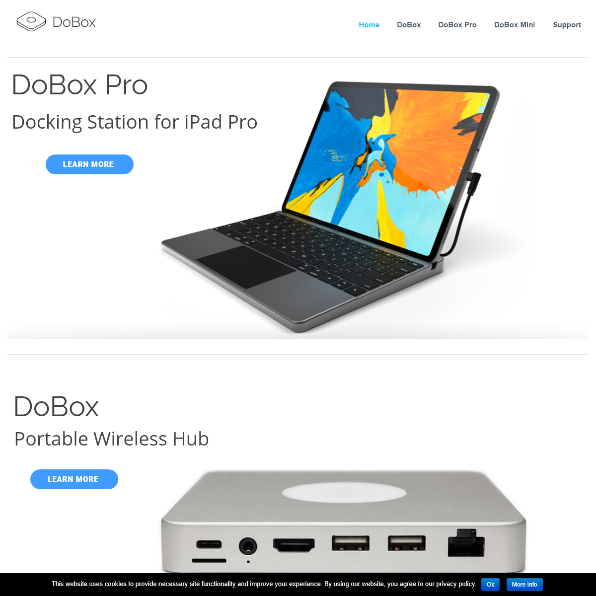 DoBox – Portable Wireless Hub