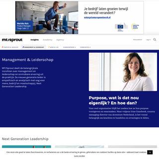 Management & Leiderschap - MT-Sprout