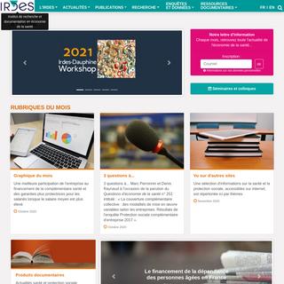Irdes - Institut de recherche et documentation en économie de la santé