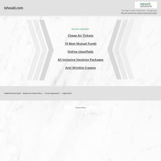 Ishould.com
