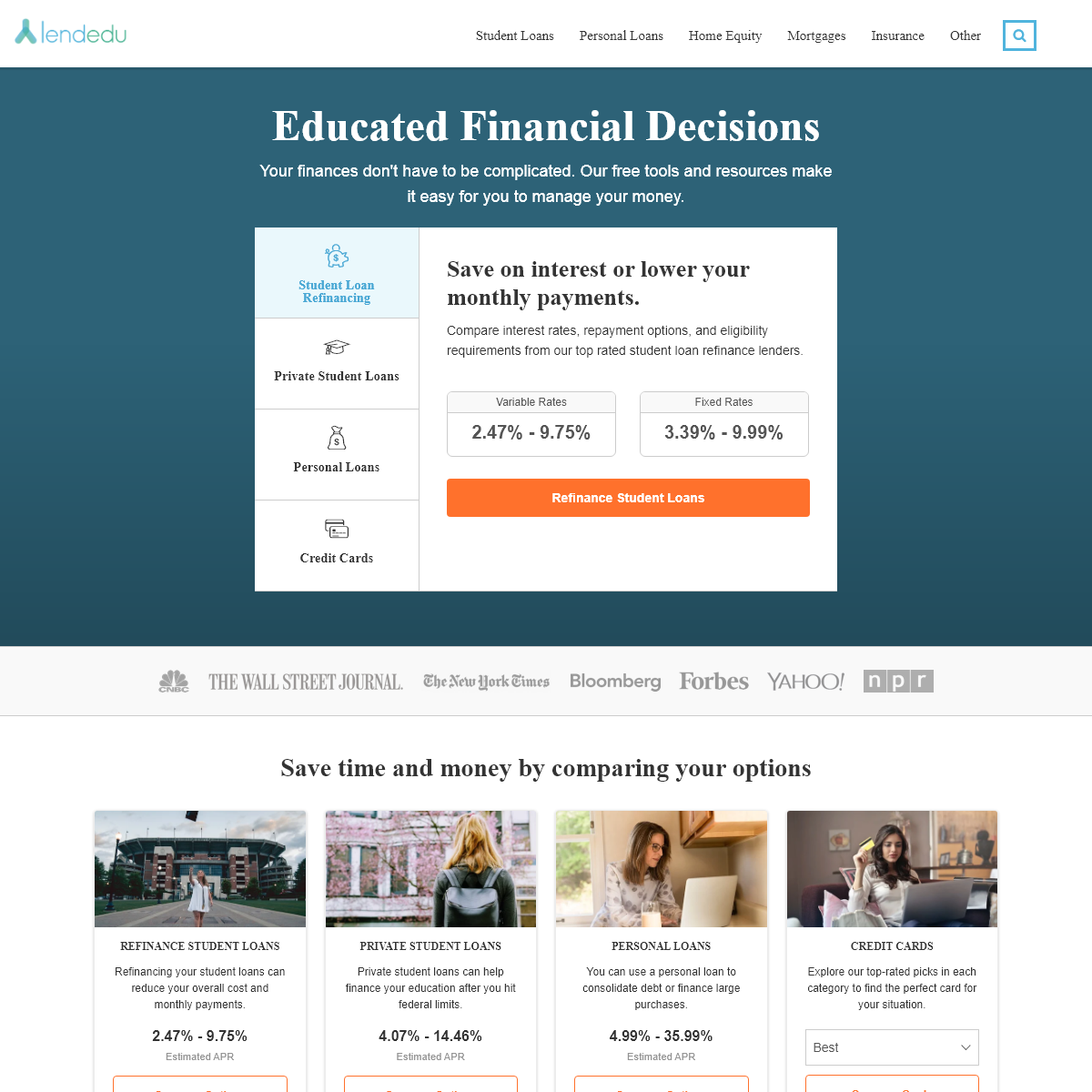 LendEDU - Educated Financial Decisions