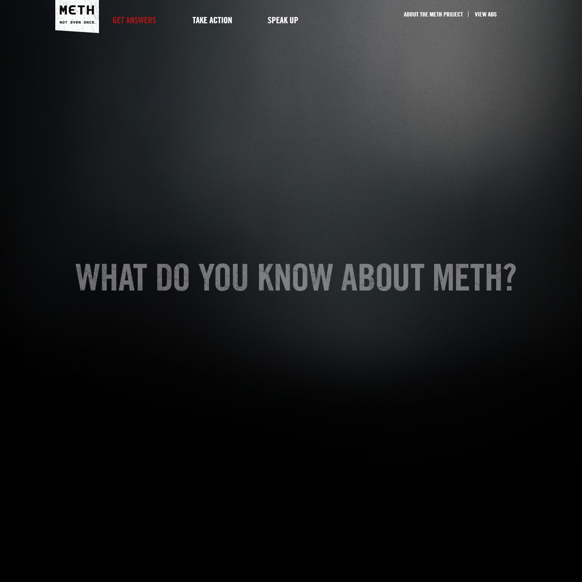 What is Meth, Effects of Meth & Facts About Methamphetamine - Meth Project