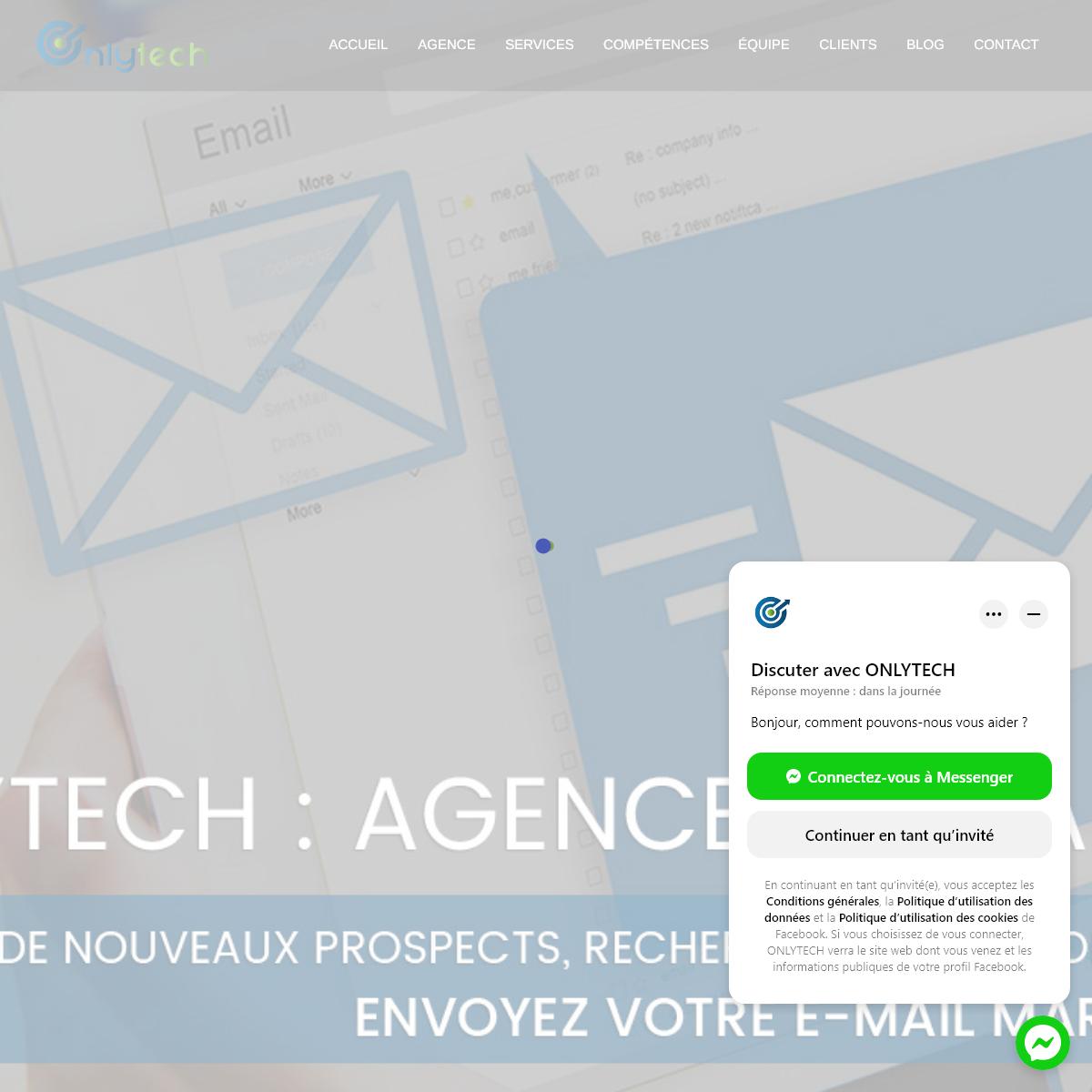 Agence de création et référencement de sites Web en Tunisie