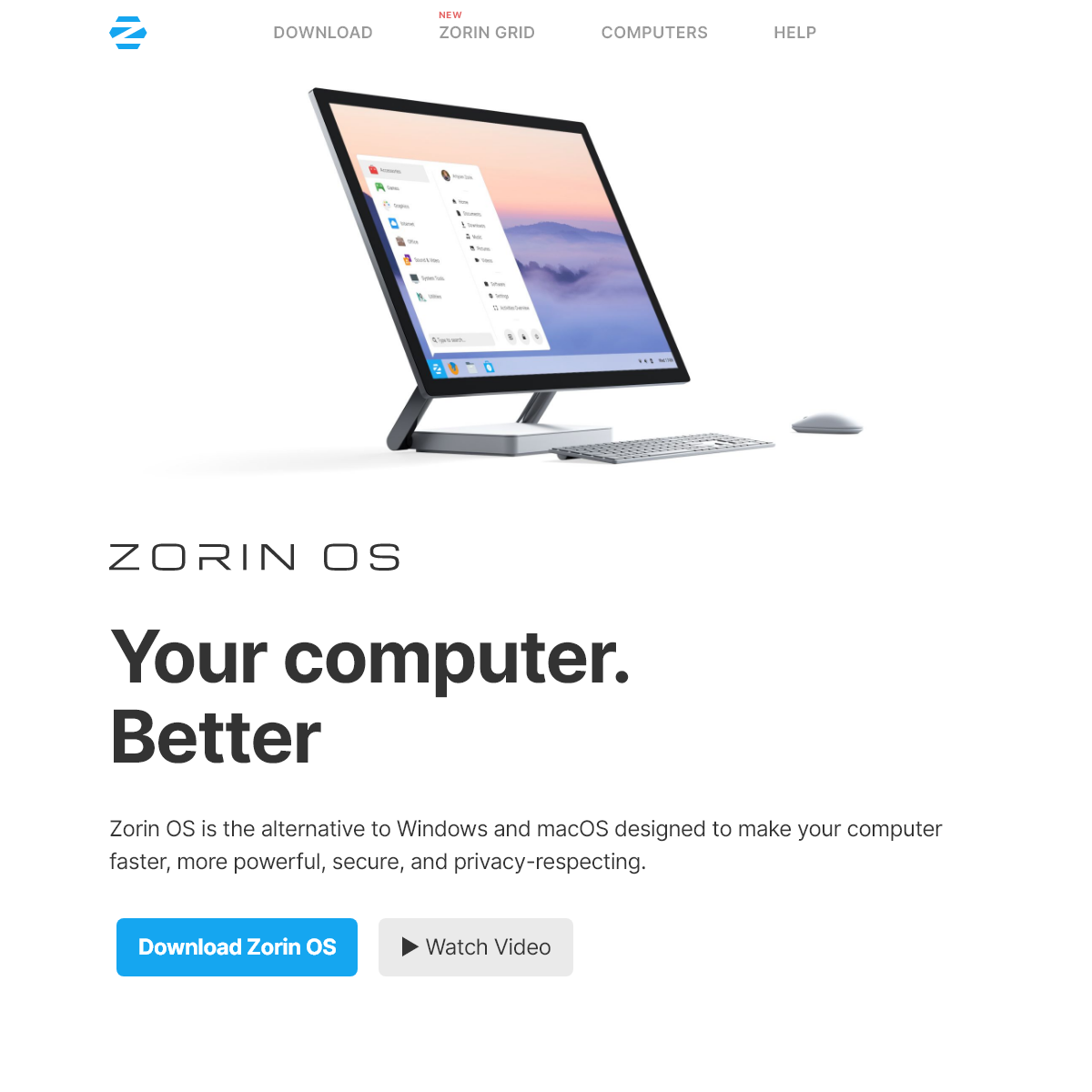 Zorin OS - Your Computer. Better.