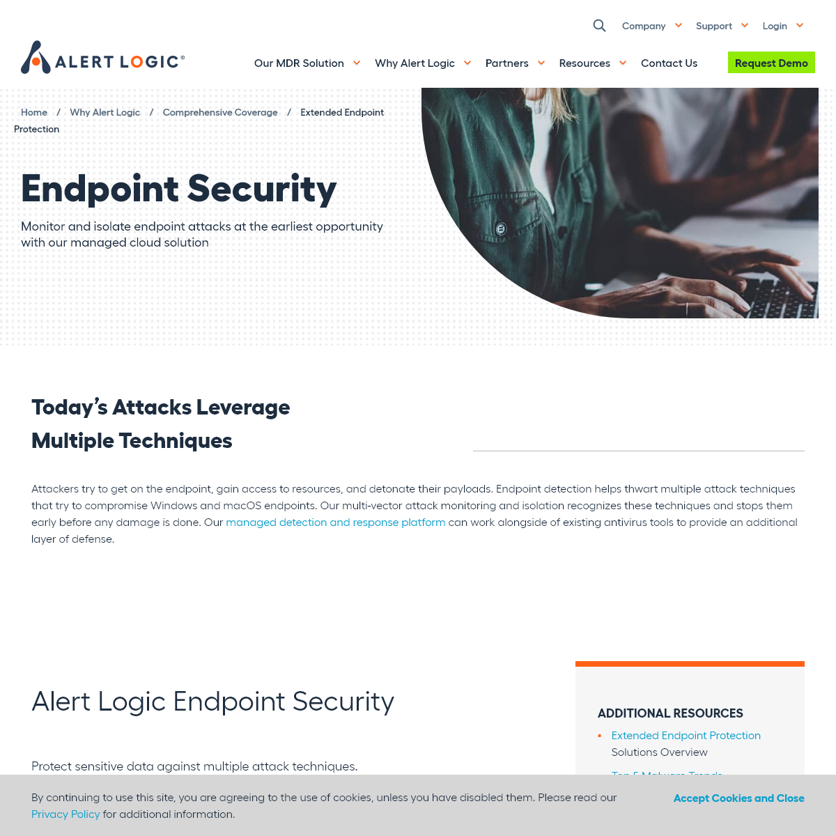 Extended Endpoint Protection - Alert Logic