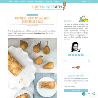 Bunsen Burner Bakery - Biochemist by day, baking chemist by night.