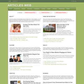 Articles Web -