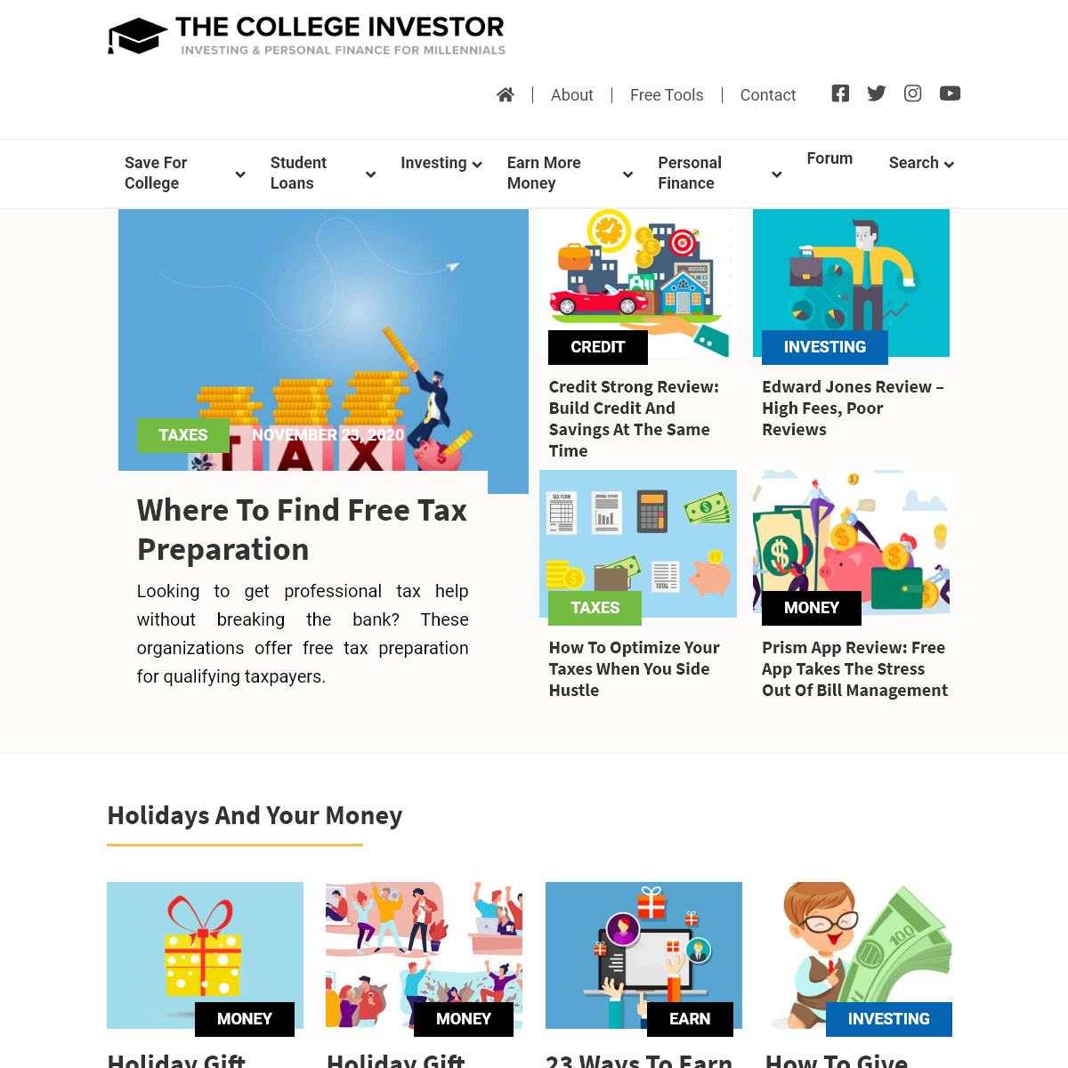 The College Investor - Millennial Personal Finance and Investing