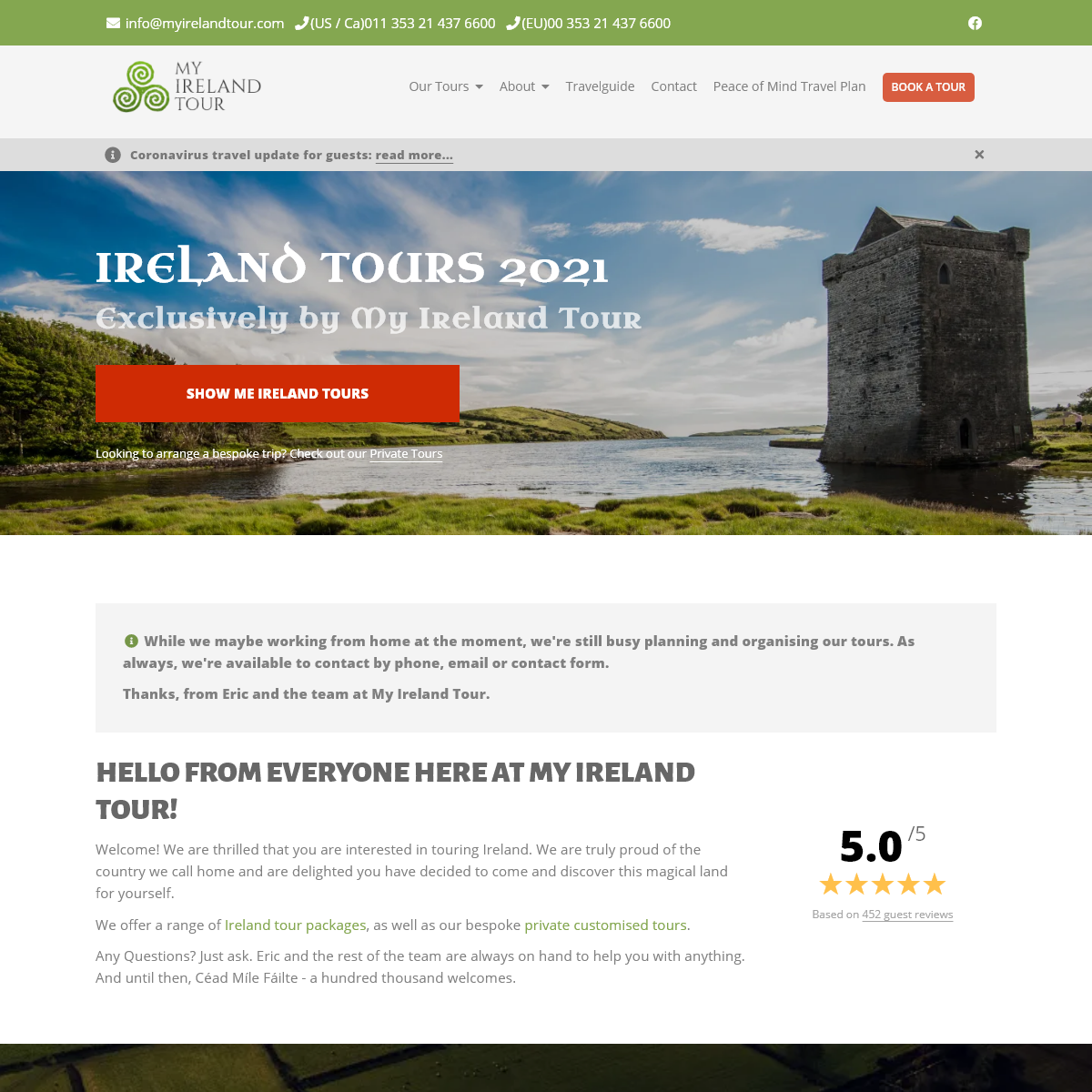 9 Ireland Tours for 2021 - Smaller Groups, More Care - My Ireland Tour