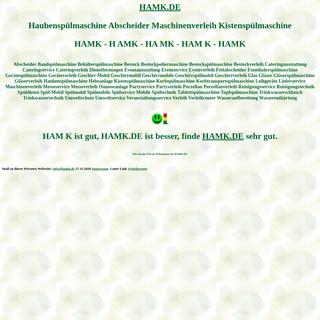 hamk Haubenspülmaschine Abscheider Maschinenverleih Kistenspülmaschine Spülmobil Verleih Geschirrmobil Mieten