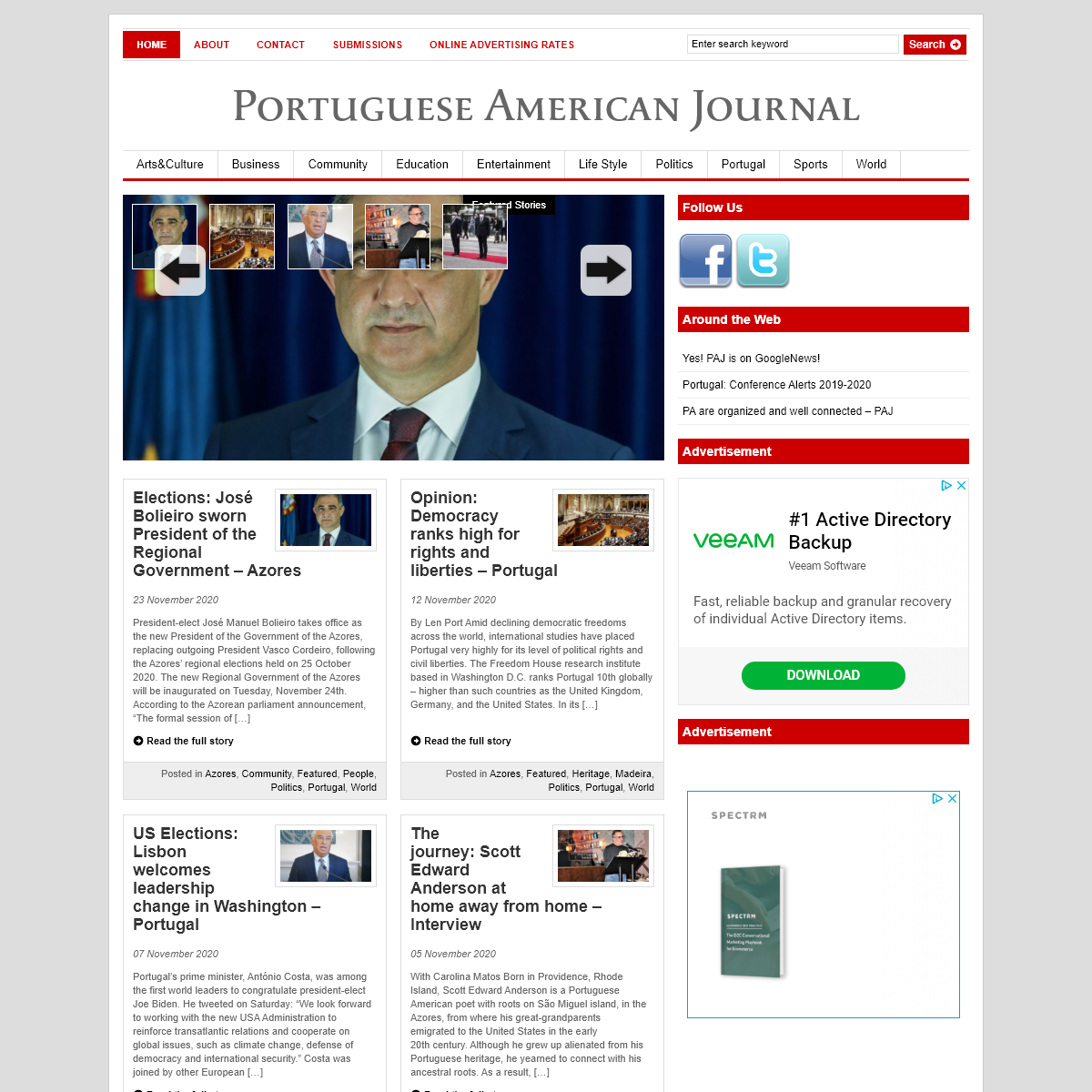 Portuguese American Journal - News and more for the Portuguese American Community