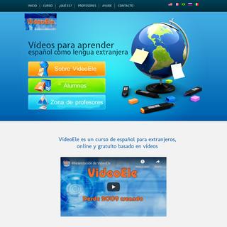 VideoEle. Curso de español para extranjeros gratis