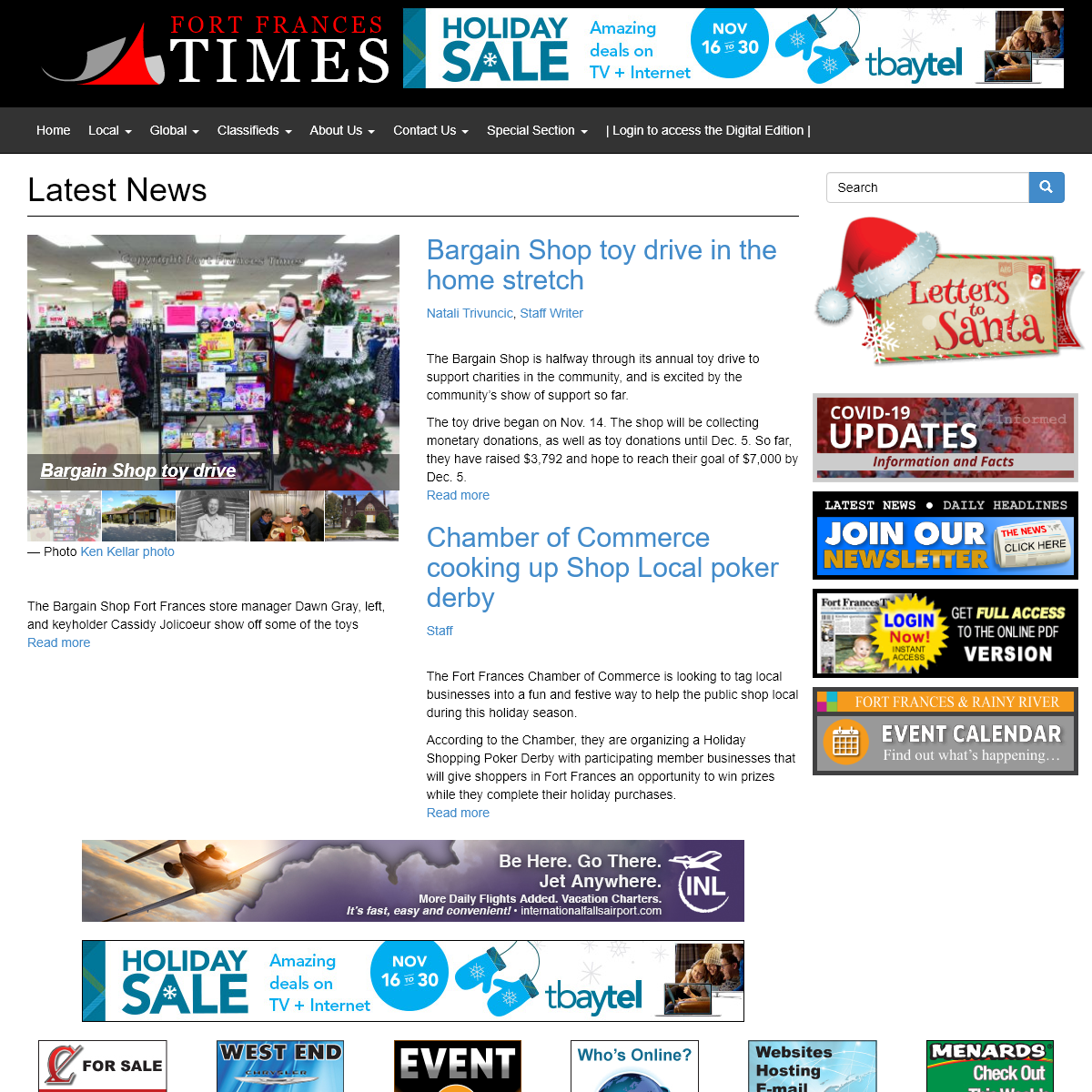 Latest News - Fort Frances Times