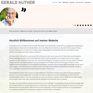 Gerald Hüther -Offizielle Webseite -