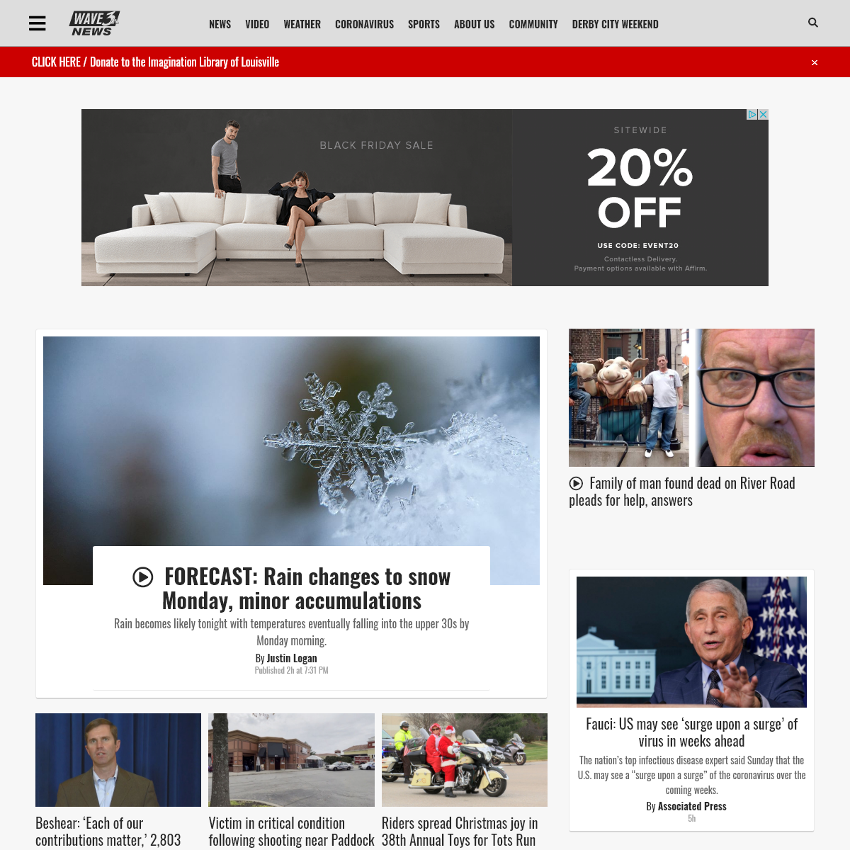 Home - wave3.com - Louisville News, Weather & Sports