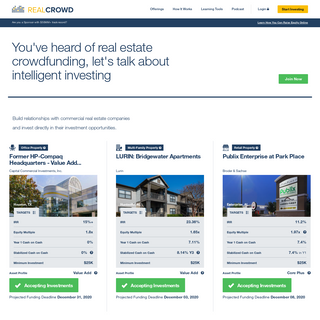 Real Estate Crowdfunding - RealCrowd