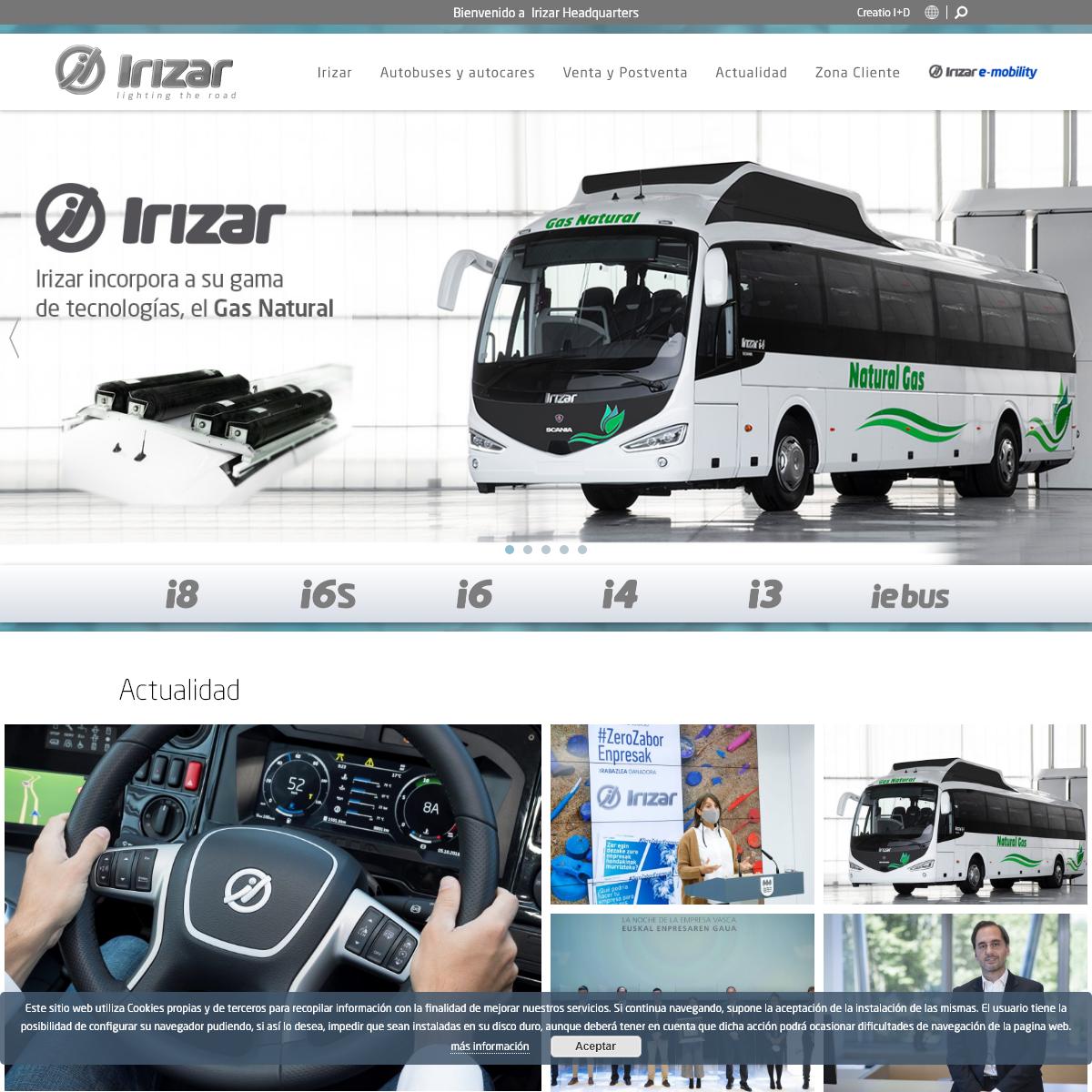 Irizar - Autobuses y Autocares