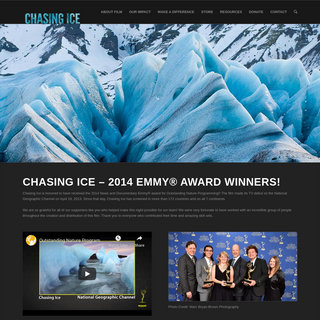 Chasing Ice - The Award-Winning Documentary on Climate Change