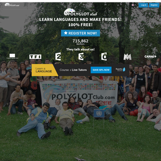 Polyglot Club Official Website - Practice languages and find friends