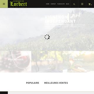 Accueil - Domaine de Lorbert