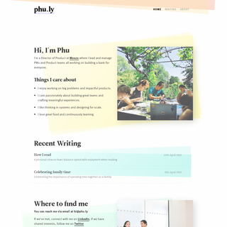 Phu Ly - Product Director
