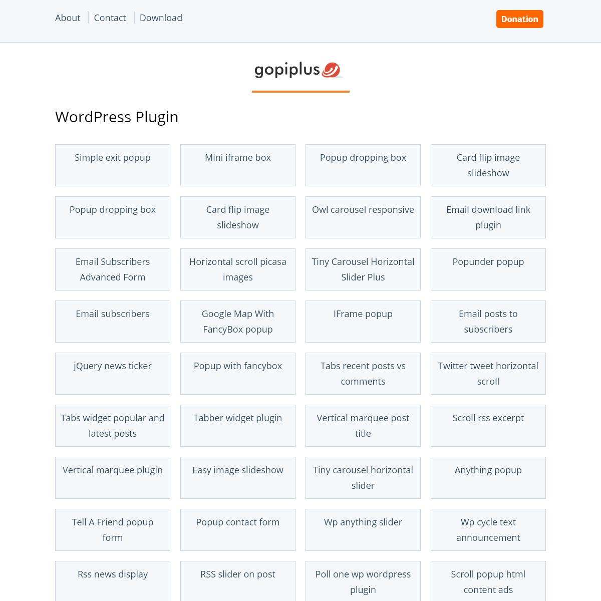 Gopiplus.com - Wordpress plugin