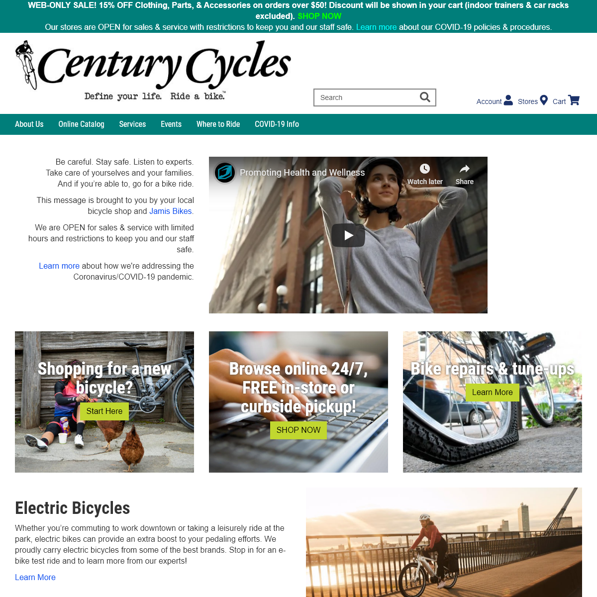 Century Cycles Bicycle Stores of Cleveland-Akron Ohio