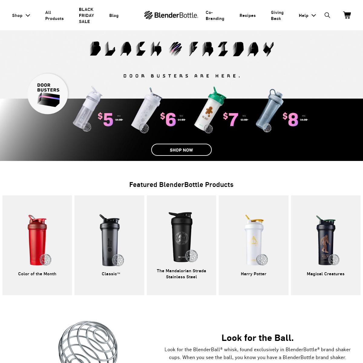 Best Shaker Cups & Shaker Bottles - BlenderBottle®