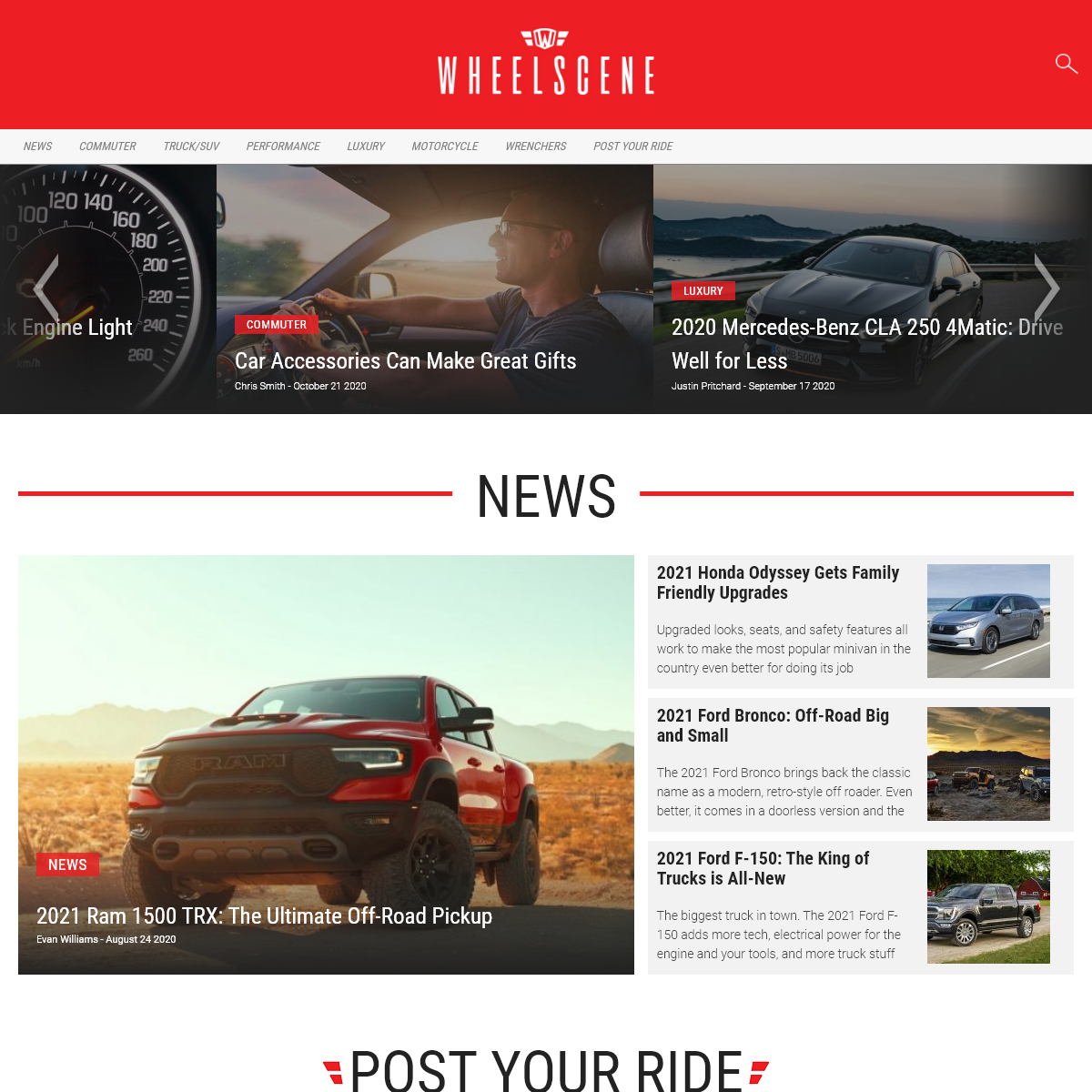 WheelScene - Automotive News, Reviews and How-To`s