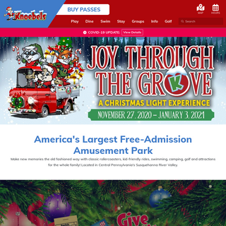 America`s Largest Free-Admission Amusement Park - Knoebels Amusement Resort